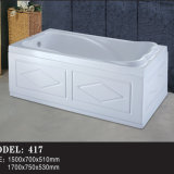 Beautiful Apron Soaking Double Skirt Sides Freestanding Bath Tub (417)
