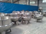 Tilting Mixing Jacketed Cooking Pot for Sugar, Jam, Sauce