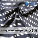 Stripe Tulle Shirt Fabric in Yarn Dyed for Lady's Voile Shirt.
