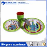 Multicolor Plastic Tableware Melamine Dinnerware Kitchenware Set