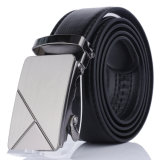 Men's Automatic Buckle Belts Wear-Resisting PU Leather Belt Factory Business Belts for Men