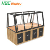 Large Space Cheap High Quality Wood Bakery Multi-Function Display Rack