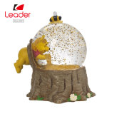 65mm Resin Craft Snow Globe   for Home Decoration, OEM Designs Are Welcomed