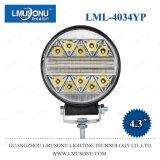 Lmusonu New Round Strobe Auto LED Work Lamp 4034yp 4.3 Inch 51W Working Light Spot Flood Beam