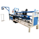 China Made Cheap Fully Automatic Double Wire Chain Link Fence Machine