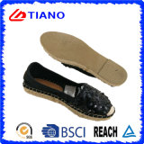 Popular Flat and Comfortable Espadrilles Women Shoes (TN36711)