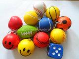 Promotional PU Foam Anti Stress Toy Ball with Customized Shape