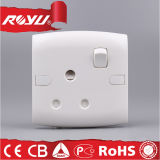 Universal Plastic 3 Pin Safety Electrical Power Switch Socket