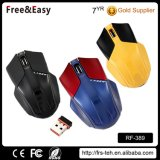 Cool Design Mice Ergonomic Micro-Receiver Wireless Mouse