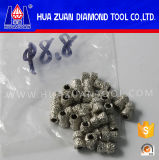8.8mm Vacuum Brazed Diamond Tools Diamond Beads for Wire Saw