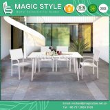 Dublin Dining Set Aluminum Chair Dining Chair Rectangle Table Outdoor Furniture Water-Proof Chair (MAGIC STYLE)