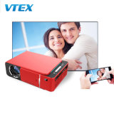 Bulk Price High Quality Full High Definition LCD Projector with 1080P Home Cinema Portable T6 Mini Projector