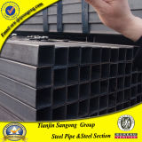 ASTM A53 Black Square Steel Tube with Anti-Rust Oil Covered