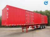 Single-Point Mechanical Suspension Cargo Semi Trailer Truck