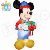 New Commercial Cheap Holidays Large Christmas Xmas Inflatables Mickey