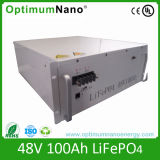 LiFePO4 48 100ah Lithium Battery for Solar System with BMS
