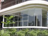 Polycarbonate Organic Glass for Window Panels with High Light Transmitance