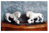 Natural Marble Stone Animal Sculpture for Garden/Outdoor Decoration
