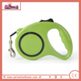Different Colors Automatic Retractable Dog Leash for Wholesale in Green