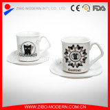 Coffee Cup & Saucer with Imprint