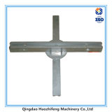 Die Casting Part Street Name Sign Bracket for Display