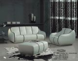 Leather Sofa (E1-363)