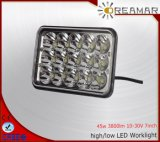 5inch 45W Auto LED Driving Light with Hi/Low Beam, 6000K