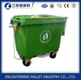 Wholesale Colorful 1100L 660L HDPE Large Dustbin with Pedal