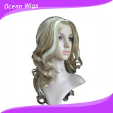 Quercy Hair 100% Best Quality Omber Color Kanekalon Fashion Synthetic Wigs (SW-327)