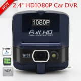 "Hot Sale 2.4"" HD1080p Car Camera with Ntk96220; G-Sensor; WDR; Night Vision Function DVR-2401"