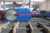 Wafer Type Knife Gate Valve with Electric Actuator