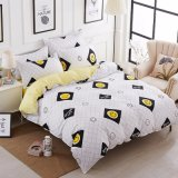 Printed Pattern Microfiber Home Textile Bedding Set
