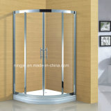 Luxury Temper Glass 304 Stainless Steel Frame Shower Cabin (A-8941)