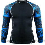 Hot Saling Long Sleeve Fitness Gym Compression Sports T-Shrit Wear