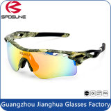 Factory Wholesale High Impact Flexible Camo Frame Cycling Running Sports Glasses