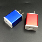 5V 1A IC Metal USB Charger for Mobile Phone