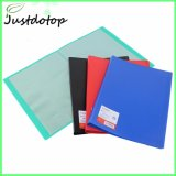 Colorful A4 Side-in Display Book Plastic File Folder Document Bag 10 To150 Pages Transparent File Pocket Filing Pouch