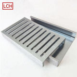 CNC Machining Part, Custom Stainless Steel Decorative Drain Grates Trim, Shower Hose Wall Outlet, Square Shower Drain