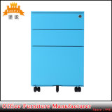 New Office Furniture A4 Mobile Metal Pedestal Filing Cabinet