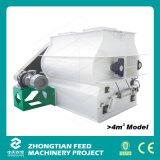 Double Shaft Feed Mixer Machine with Door-Opening Discharging Mechanism