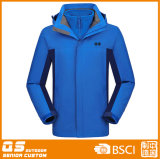 Men′s Sport 3 in 1 Outdoor Fashion Waterproof Jacket