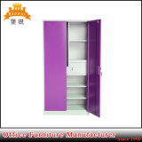 Colorful Swing Door Large Metal Wardrobe