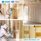 Polyurethane Foam Wall Insulation System Spray Material