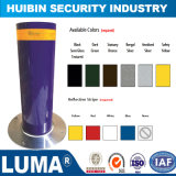 Excellent Design Semi-Automatic Carbon Steel Bollard with Reflective Tape