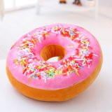 Direct Manufacturer Mini Doughnut Plush Toy Cushion for Dogs