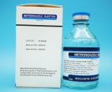 Metronidazole Injection/ Infusion Medicine Glass Bottle