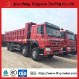 12 Wheels 25cubics China HOWO Dump Truck, Tipper with Superb Efficiency