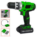 Beijing Zlrc 10mm Chuck Power Tools 2 Speed 12V DC Electric Motor Cordless Drill