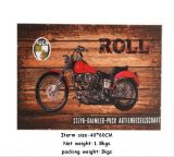 Hot Sell Custom Retro Wooden Plaque Wooden Printed Arts