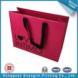 Fashion Paper Shopping Bag with Cotton Handle (GJ-bag123)